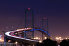 vincentthomasbridge (rookieoftheyear98) Tags: vincent thomas bridge sanpedro losangeles nightphotography longexposue california nightphotograpghy trails