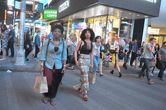 Times Square candid (zaxouzo) Tags: timessquare people public night nyc nikond90 2017 candid fashion streetstyle