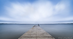 Fictitious landscape, color. (PvRFotografie) Tags: nederland holland oostvoorne water meer lake clouds wolken longexposure nd nature natuur filter leebigstopper leesw150 sonyilca99m2 1224mm sigma1224mm sigma12244556 12mm wideangle groothoek