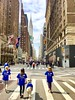 Marching for Babies on Lexington Ave, NYC (dannydalypix) Tags: goteamlevine manhattan lexingtonave chryslerbuilding newyorkcity marchofdimes marchforbabies