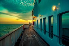 First Evening (Tony Shertila) Tags: 20170411185722 england uk britain cruise essex europe pig canveyisland unitedkingdom outdoor tilbury thames river ship boat gbr