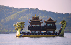 Hangzhou - West Lake Tour Boat (cnmark) Tags: china hangzhou west lake tour boat spring barge ship dragon shape drachen boot schiff ausflugsboot frühling 中国 杭州 西湖 西湖风景区 ©allrightsreserved