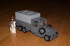 Desert Chase (EliteTC) Tags: lego vehicle moc indianajones truck chase