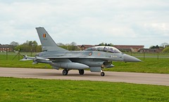 BELGIUM F-16 FB24 (Apple Bowl) Tags: belgium f16 fb24 fighting falcon twin stick raf coningsby usaf