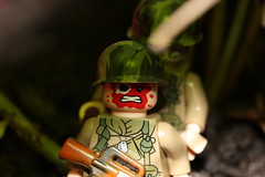 In Country (lego slayer) Tags: lego legos brickarms citizen brick jungle vietnam atomic war cold bloody
