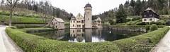 Mespelbrunn Schloss 170413 (Bianchista) Tags: 2017 april bianchista castle frühling gründonnerstag mespelbrunn panorama schloss schlos spessart
