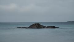 "Clashnessie Bay (Say ""Wasabi"") Tags: clashnessie le longexposure scotland scenery olympus m43 mzuiko1240 omdem5ii blue grey bigstopper blurred water sea lee scottish highlands sutherland beach"