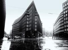 Chilehaus (Andrew G Robertson) Tags: hamburg rain wet chilehaus architecture brick expressionism canon5dmkiv mk4 mkiv canon 5d germany deutschland