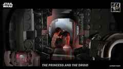 LEGO Star Wars - The Princess and the Droid 1 4K (K Yousef) Tags: lego star wars princess leia carrie fisher r2d2 kenny baker a new hope episode iv