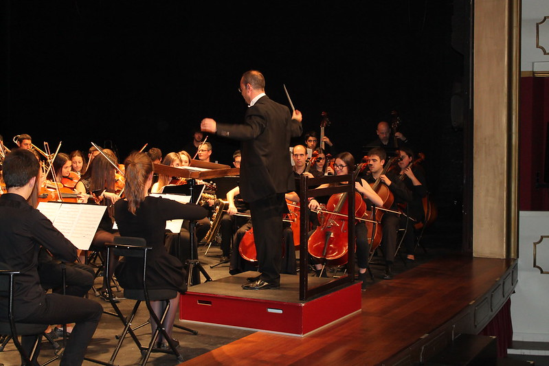 Concierto de la Banda y Orquesta fin de curso 2015