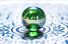 Marble on Ceramic (the weavster) Tags: macromondays glaze