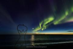 Lady Aurora (Kjartan Guðmundur) Tags: iceland ísland auroraborealis northernlights nocturne ngc nightscape norðurljós nordlys zorzapolarna polarlict sea stars sky twilight outdoor kjartanguðmundur canoneos5dmarkiv tokinaatx1628mmf28profx
