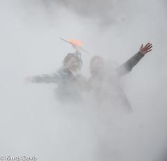 Fujiko Nakaya's Fog Sculpture, London (Flip the Script) Tags: fujiko nakaya travel art sculpture fog weather fun people mist professional photography journalism street fashion portrait tate gallery london tourist city