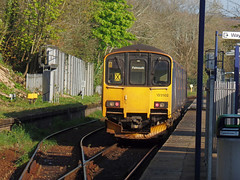 150102 Penryn (2) (Marky7890) Tags: gwr 150102 class150 sprinter 2t69 penryn railway cornwall maritimeline train