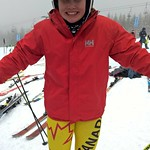 Cassidy Gray (Panorama Ski Club) SG top Canadian - 4th place