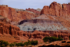 Capitol Reef--2 (tristanrayner.com) Tags: arizona capitolreef utah desert scenic drive national park panorama point lunch red rocks millenia erosion