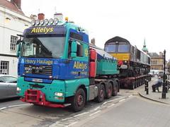 66428 at towcester (47604) Tags: class66 66428 drs allelys hgv lotty towcester heavy haulage
