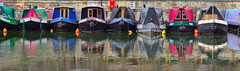 Narrow Minded (tcees) Tags: stpancrasdrydock regentscanal london n1 water narrowboats canal nikon d5200 1855mm kingscross uk allfreepicturesmay2018challenge reflections