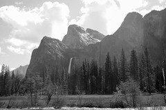 The same spot where famed photographer Ansel Adams took his first picture of Yosemire National Park. (apardavila) Tags: anseladams california yosemite yosemitenationalpark yosemitevalley clouds nationalpark rockformation waterfall