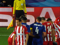 DSCF9400 (lcfcian1) Tags: leicester city atletico madrid lcfc atleti uefa champions league football sport uk england kingpowerstadium king power stadium leicestercity atleticomadrid leicestercitystadium uefachampionsleague championsleague footballmatch diegogodin 11 18417 quarter final