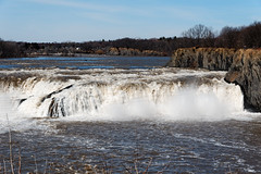 Cohoes Falls (fotofish64) Tags: cohoes waterfall water mohawkhudsonindustrialgateway mohawkriver rapids capitaldistrict newyork smalltown outdoor nature awe power landscape flowingwater pentax pentaxart hdpentaxda1685mmlens k70 kmount river geology rock