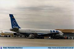 LAB Lloyd Aéreo Boliviano - CP-1698 (Aviacaobrasil) Tags: lab lloydaereoboliviano boeing707 campinas viracopos reinaldodeckleva