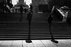 Bxl_stairs (Sean Declerck) Tags: brussel stairs peop blackandwhite bw
