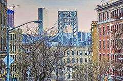 GW Bridge (albyn.davis) Tags: nyc newyorkcity manhattan bridge city urban buildings cityscape