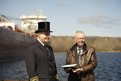 Whitefish Bay Ship (D & E Grey Wolf Photography) Tags: whitefishbay ship midland ceremony