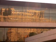 Museum and Original (Ed Sax) Tags: athen athens attika museum akropolis antike ruine worldheritage griechenland spiegelung fassade glas architektur hellas