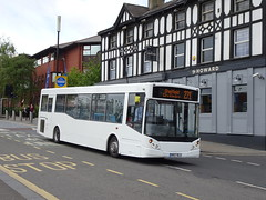 Hulleys RR57BLU Sheffield (Guy Arab UF) Tags: hulleys rr57blu alexander dennis dart slf mcv evolution bus the howard sheffield south yorkshire buses stagecoach 33870 bluebird middleton