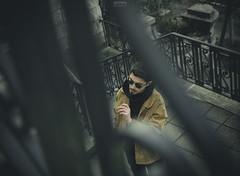 Da Saints (Schynts Photography) Tags: saints scale stair sunglasses city urban shooting blur nikon smoke cigarette flare