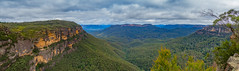Gordon Falls Lookout (Anthony's Olympus Adventures) Tags: bluemountains nsw australia sydney mountain gordonfalls lookout stunning view amazing beautiful trees rocks sky pano panoramic panorama olympusem10 olympus olympusomd photography leura newsouthwales travel