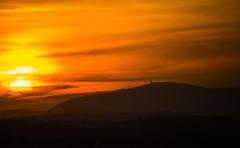 (mmiriana) Tags: sunset sunrise orange sky sun clouds mountains light shadows marche italy colors in our world colorsinourworld