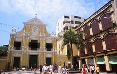 Largo Sao Domingos, Macau (Niall Corbet) Tags: china macau saodomingos cathedral