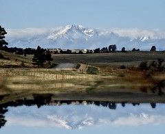 Pikes Peak Reflected (Chamblin1) Tags: colorado landscape rockymountains spring country pikespeak