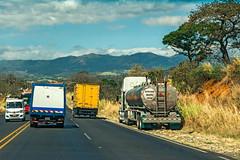 San Jose-Arenal Highway Traffic (fotofrysk) Tags: road hills trees landscape view traffic trucks sanjosearenalhighway highway1 ruta1 centralamericatrip costa rica sigma1750mmf28exdcoxhsm nikond7100 201702069361