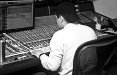 IMG_8261 (Brother Christopher) Tags: art artistry create creatives creativity makingmusic music hiphop culure studio sessions monochrome blackandwhite monochromatic produce producer engineer engineroom new portraits explore latenights
