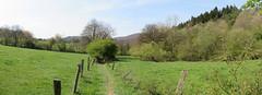 IMG_4278_4279 (Bike and hiker) Tags: ourthe aisne printemps lente