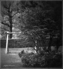 L'altalena (lefotodiannae) Tags: lefotodiannae bianco e nero black et white altalena monasterolo del castello lombardia