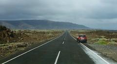 On the Road on Lanzarote (J_Piks) Tags: road lanzarote spain espana car opel vauxhall corsa