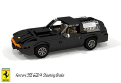 Ferrari 365 GTB/4 Daytona Shooting Brake - Panther Cars (1975) (lego911) Tags: ferrari 365 gtb4 daytona shooting brake break wagon concept 1975 1970s v12 classic panther cars auto car moc model miniland lego lego911 ldd render cad povray italy italian lugnuts challenge 114 automotiveculturemashup automotive culture mashup foitsop