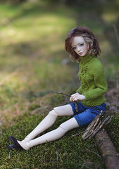 Let's go to forest (hoe-nir) Tags: doll bjd dollmore zaoll luv