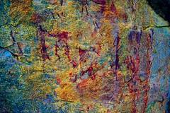 DSC05211 - BONGANI Spot 2_lds (HerryB) Tags: 2017 southafrica afrique afrika sar sonyalpha77 sonyalpha99 tamron alpha bechen fotos photos photography sony herryb mpumalanga rockart rockpaintings peintres rupestres san zeichnungen höhlenmalerei paintings bushmen buschmänner dstretch harman jon jonharman enhance falschfarben restauration bongani lodge mountain bonganimountainlodge spot2
