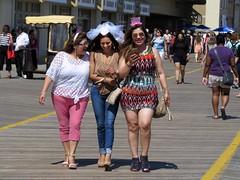 Team Bride (Multielvi) Tags: atlantic city new jersey nj boardwalk girls women bachelorette candid