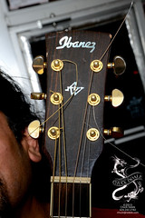 Ibanez guitar headstock (sirchuckles) Tags: guitar acoustic ibanez headstock