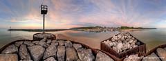 Fishtown ... 360 of sunset (Ken Scott) Tags: usa marina leland harbor spring michigan jetty may lakemichigan greatlakes hdr rockwall fishtown freshwater leelanau pierlight 45thparallel 2013 360panorama lelandriver 360panorama kenscottphotography kenscottphotographycom
