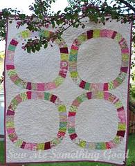 Baby Cherry Blossom Quilt (Sew Me Something Good) Tags: quilt babyquilt denyseschmidt singlegirlquilt