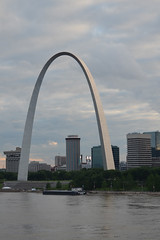 St. Louis Gateway Arch (dougclemens) Tags: saint st river mississippi louis downtown arch gateway d5100
