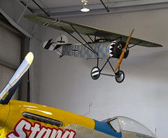 "Fokker ""Flying Razor"" (Anna 666) Tags: arizona usa museum airport fighter unitedstates aircraft hangar engine planes airforce mesa fokker sentimentaljourney warplanes flyingrazor commemorativeairforcearizonawingaviationmuseum"